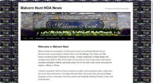 Malvern Hunt HOA