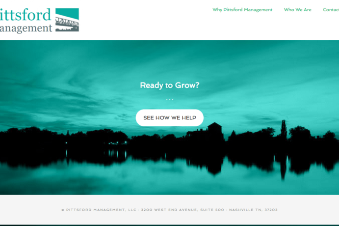 Pittsford Management website