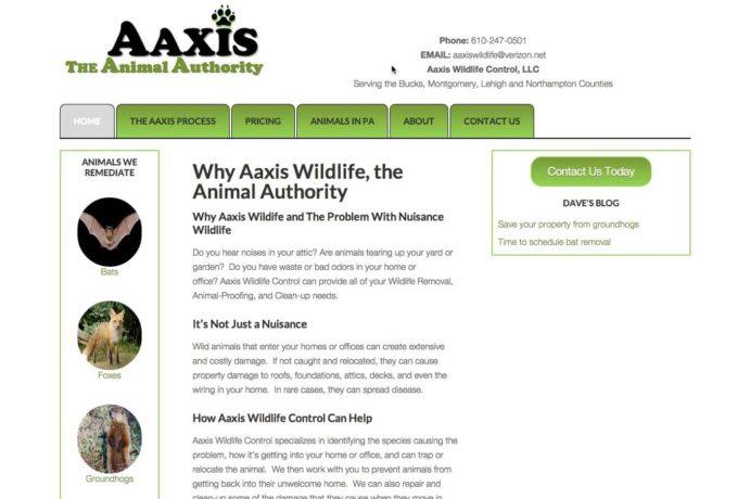 Aaxis Wildlife, Inc. screenshot