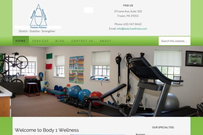 Body 1 Wellness – New Design screenshot