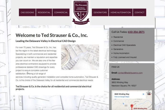 Ted Strauser & Co., Inc. screenshot