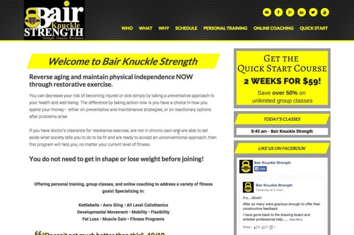 Bair Knuckle Strength screenshot