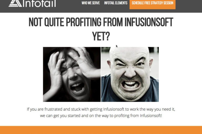 After image of infotail.com screen shot
