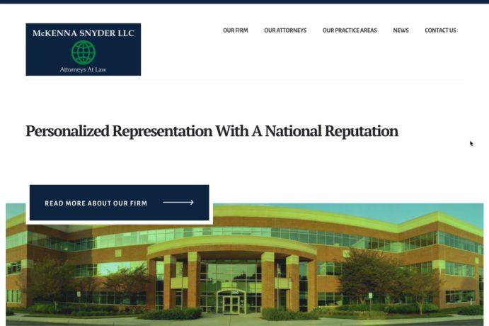 McKenna Snyder LLC (Attorneys at Law) screenshot
